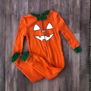 Komar Unisex Pumpkin Orange Zipper One Piece 12M